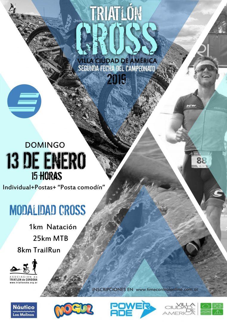 Resultados Triatlón Cross Los Molinos 2019