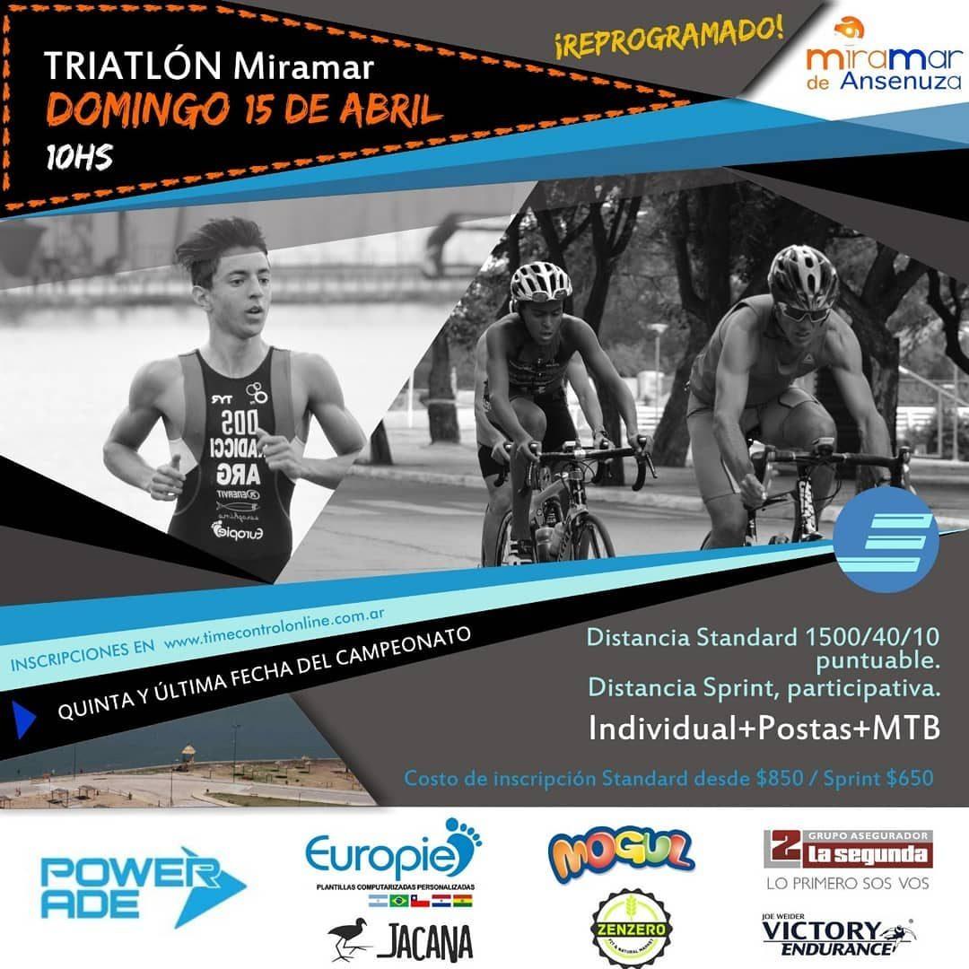 Resultados Triatlón Miramar 2018