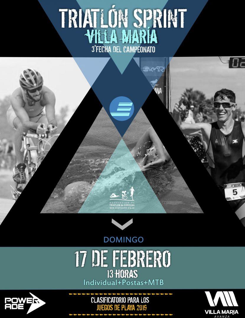 Resultados Triatlón Sprint Villa María 2019