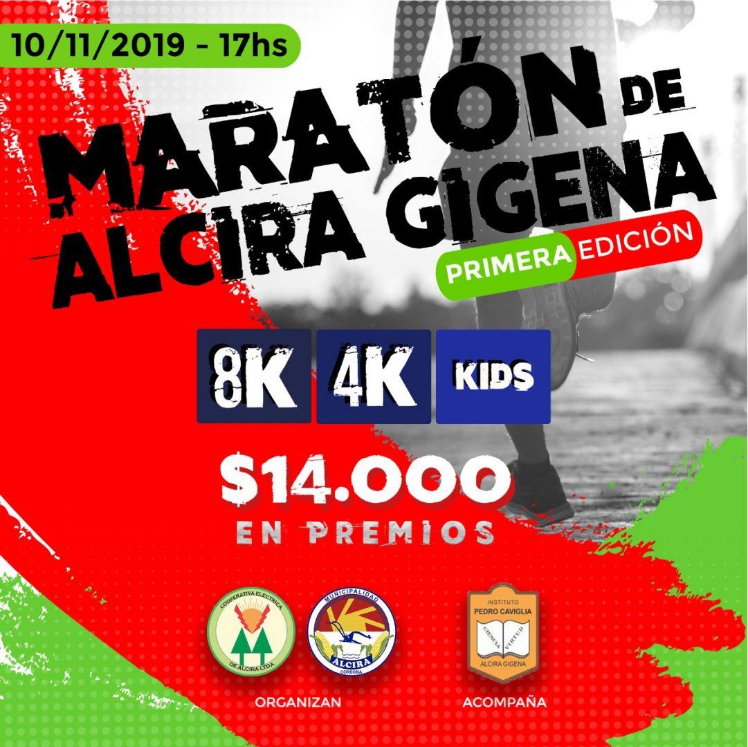 Resultados 8K Alcira Gigena