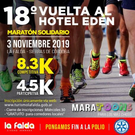Resultados 18º Vuelta Hotel Eden 2019