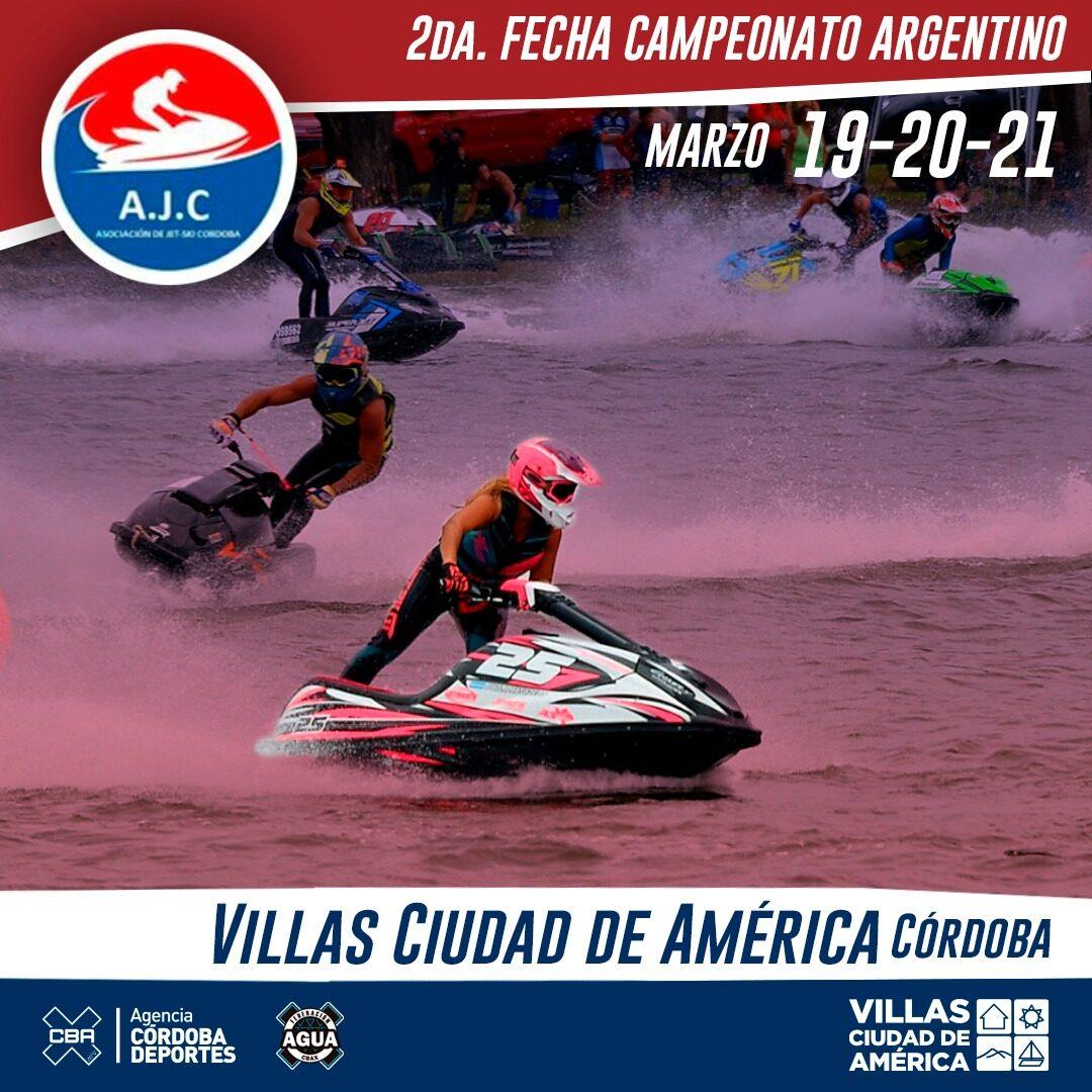 Resultados 2° Fecha Camp. Argentino Jet Ski